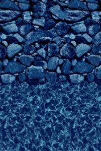 Blue Stone Above Ground Vinyl Liner