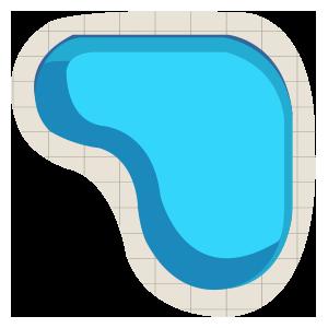 Free Form Pool Shape
