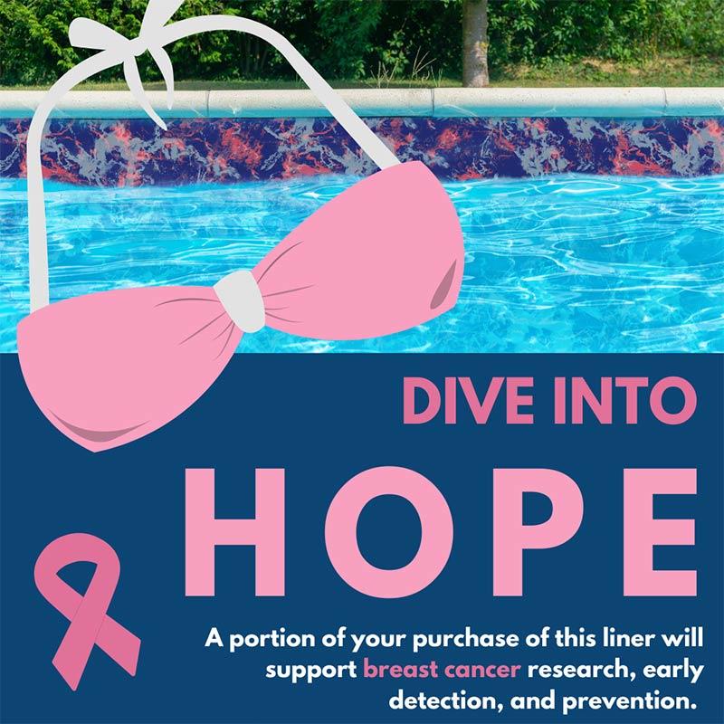 HOPE Vinyl Liner Pattern - Fighting Breast Cancer