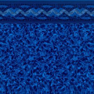 Carnegie Arctic Tile / Indigo Arctic Floor