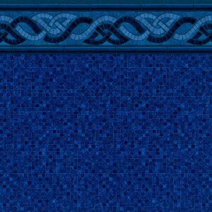 Colorado Mosaic Tile / Indigo Mosaic Floor (20 Mil
