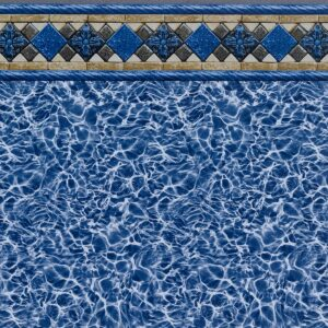 Kingsford Tile / Blue Diffusion (27 Mil) - Findlay Vinyl
